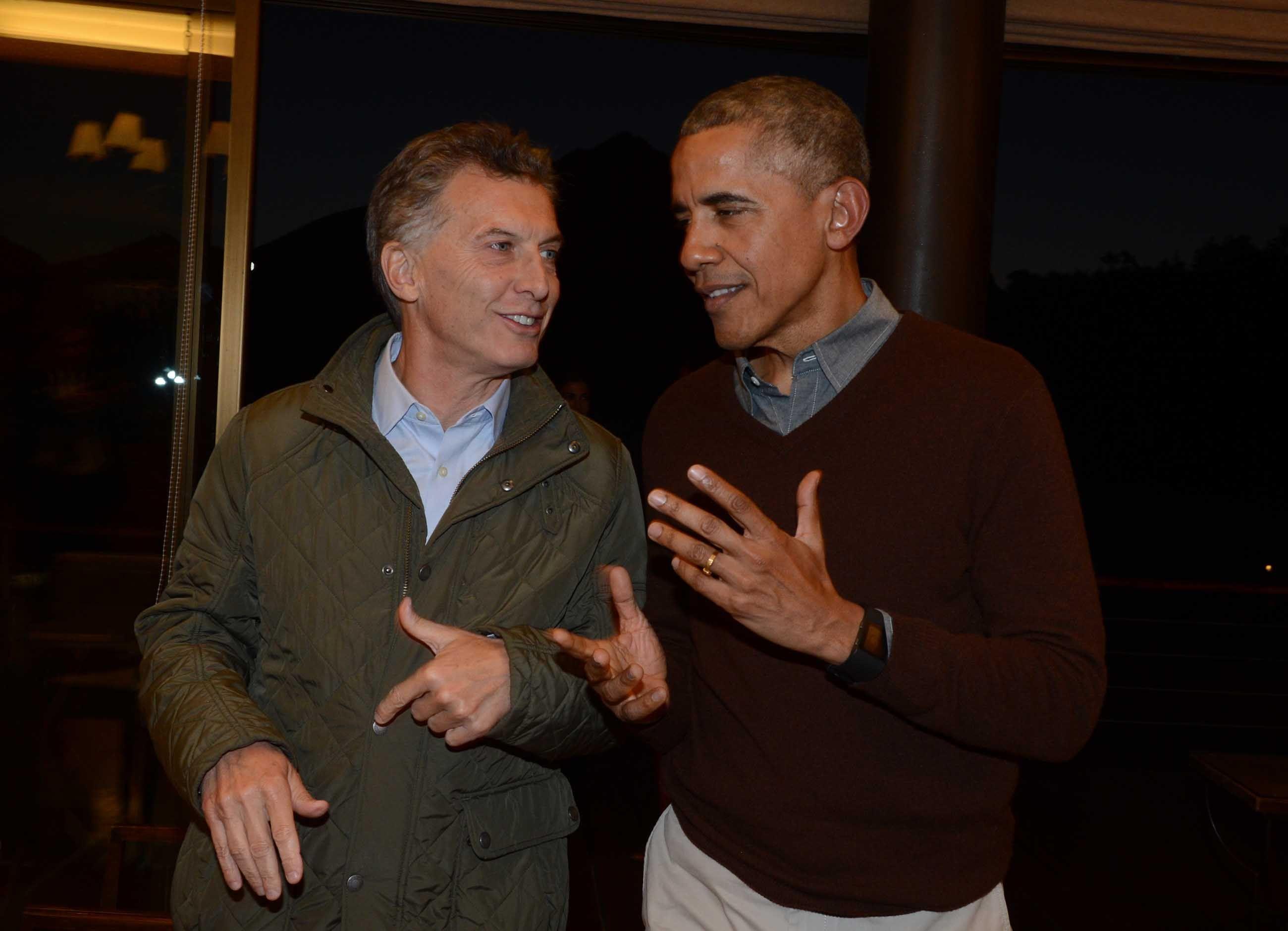 Obama visitó la Argentina como presidente en 2016