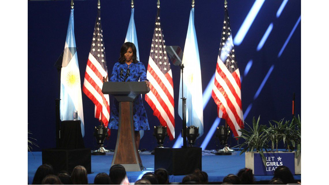 Michelle Obama: En Barracas me siento como en casa