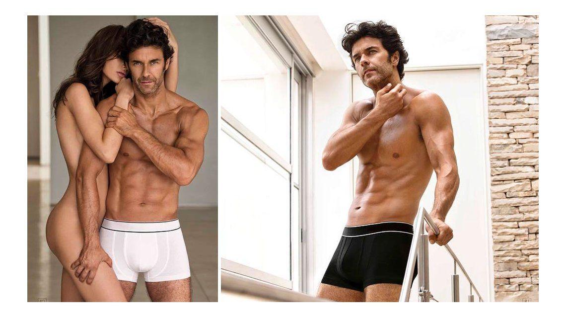 La foto hot de Mariano Martínez con una modelo desnuda ¿qué dirá Lali Espósito?