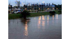 Por la Sudestada, advierten que el nivel del río volverá a subir esta noche