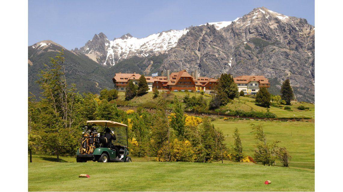 Así es el lujoso campo de golf en el que Obama jugará en Bariloche
