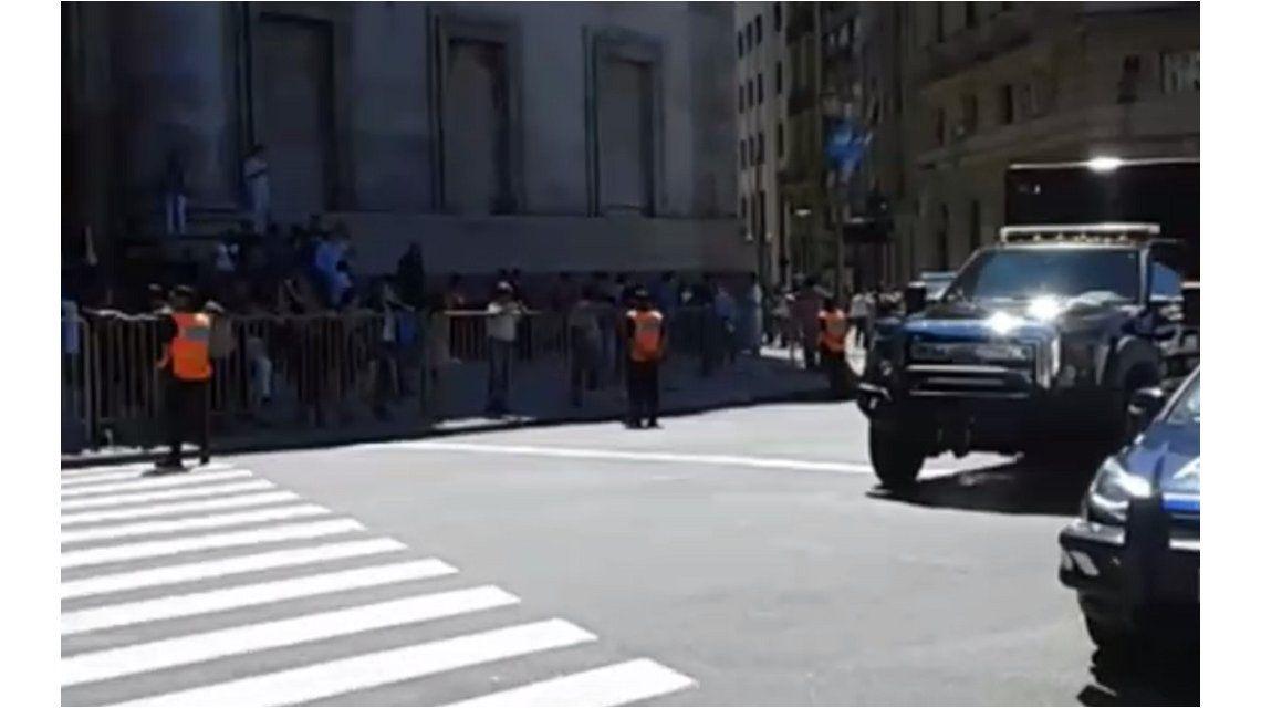 Obama en Argentina: detuvieron a una persona en Plaza de Mayo