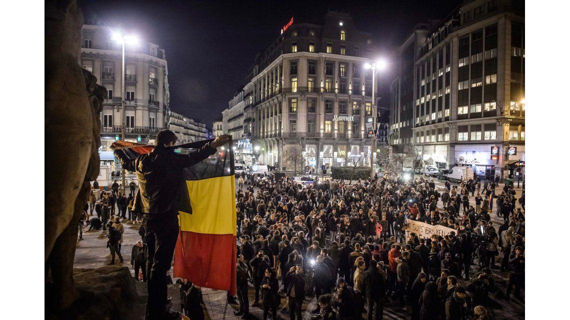 Por temor a nuevo ataque, suspenden marcha contra el miedo en Bruselas