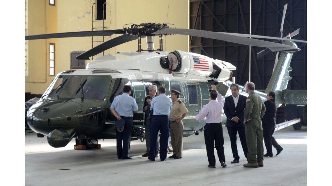La llegada de Barack Obama al país en fotos
