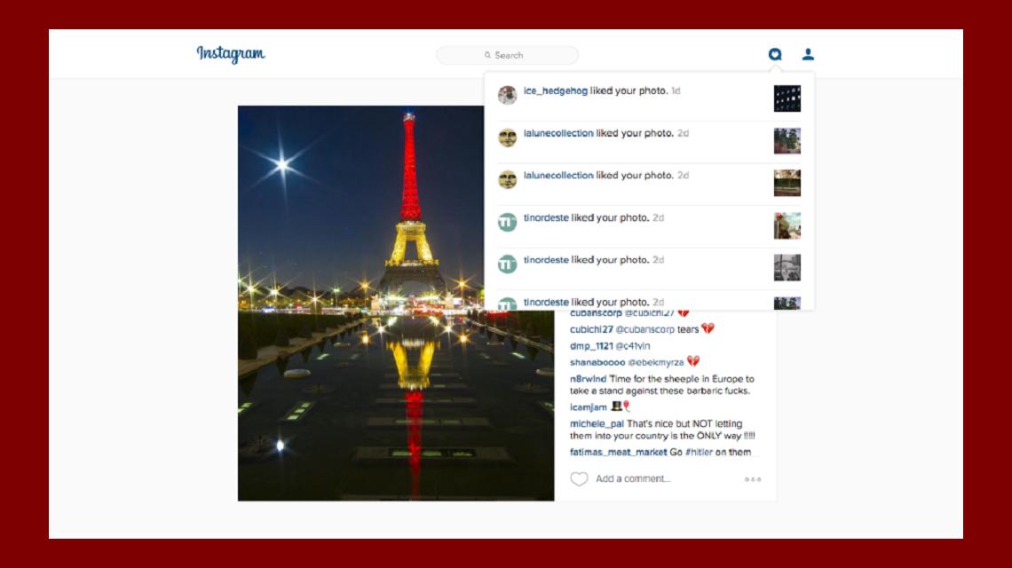 Instagram agrega una pestaña de notificaciones en su versión web