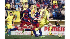 Barcelona ganaba tranquilo, pero Villarreal se lo empató