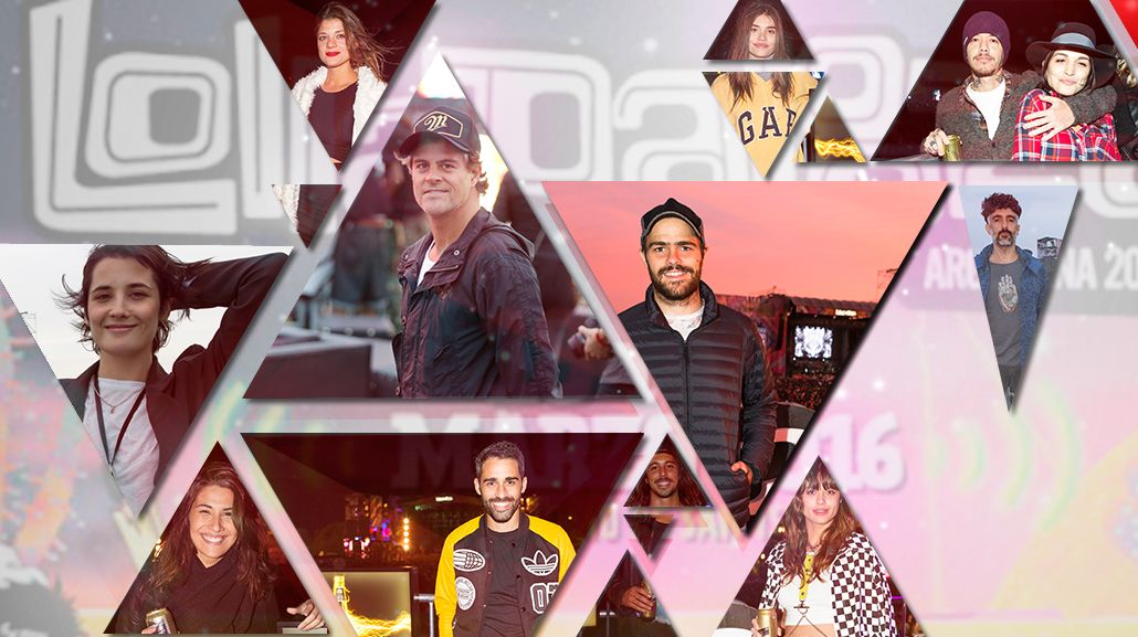 El look de los famosos en el Lollapalooza 2016