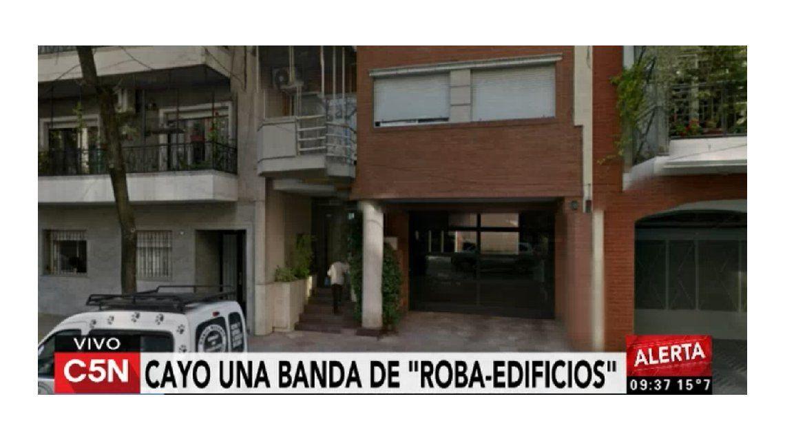 Desbaratan una banda que robaba edificios en Caballito: dos detenidos