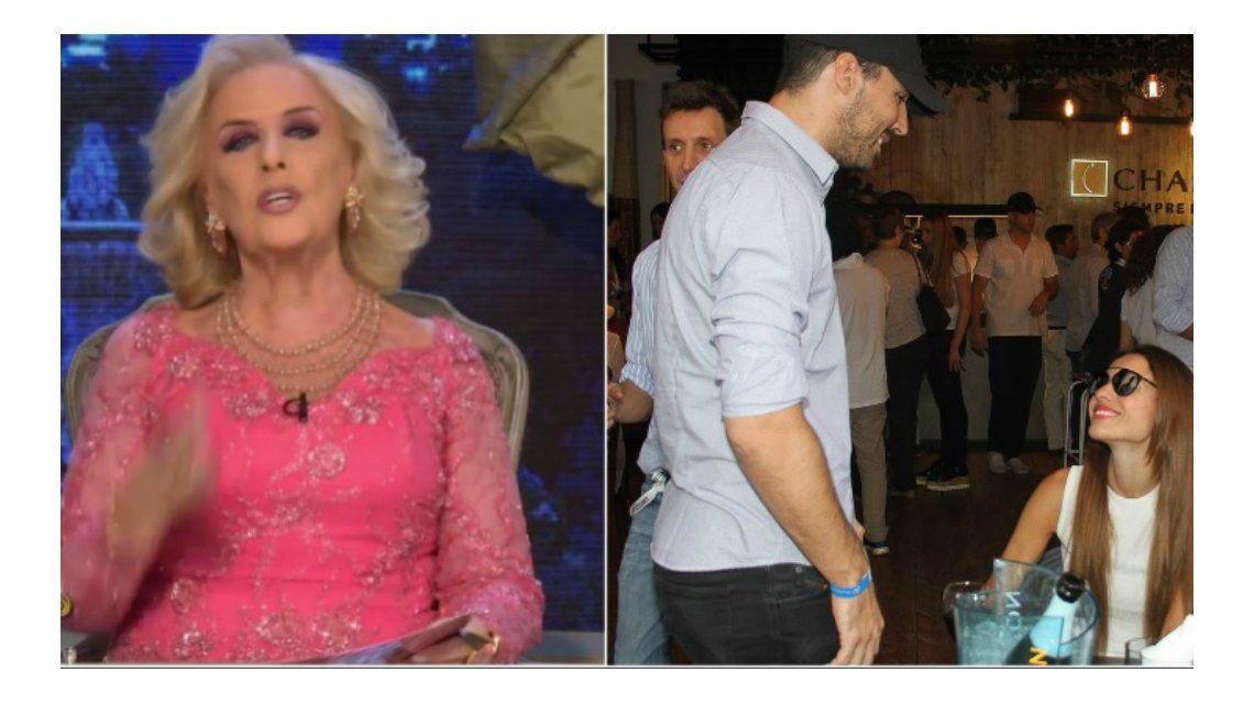 Mirtha Legrand, desentendida por la separación exprés de Nacho Viale y Pampita