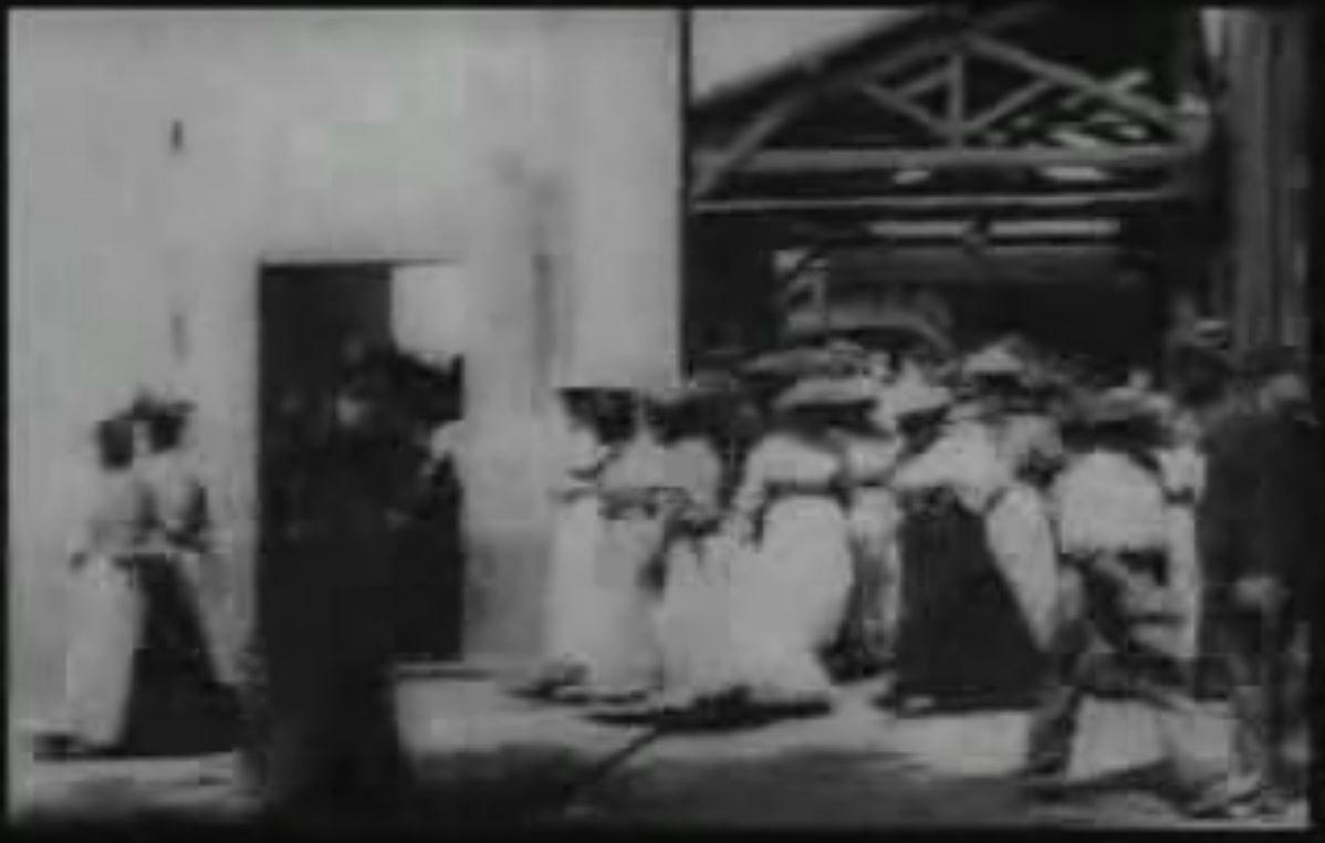 VIDEO: Reviví la primera película de la historia del cine