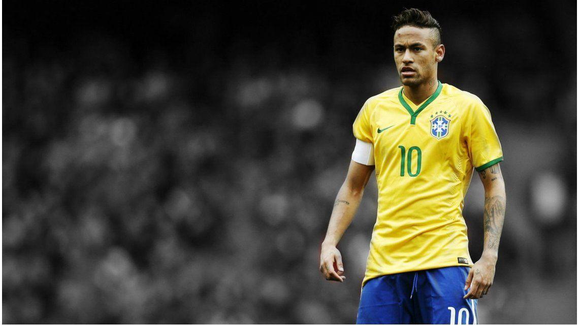 ¿Amarrete? Dunga probó un equipo con Neymar como único delantero