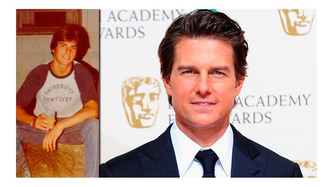 Una ex de Tom Cruise reveló viejas fotos del actor: mirá el antes y después