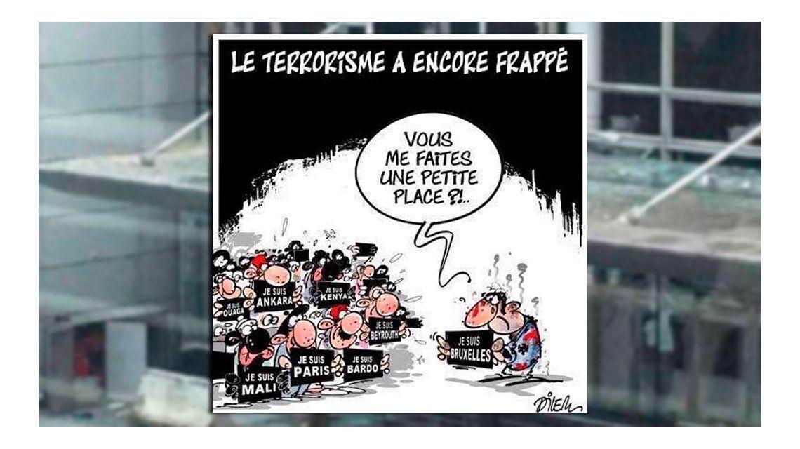 Las redes sociales lloran el atentado en Bélgica