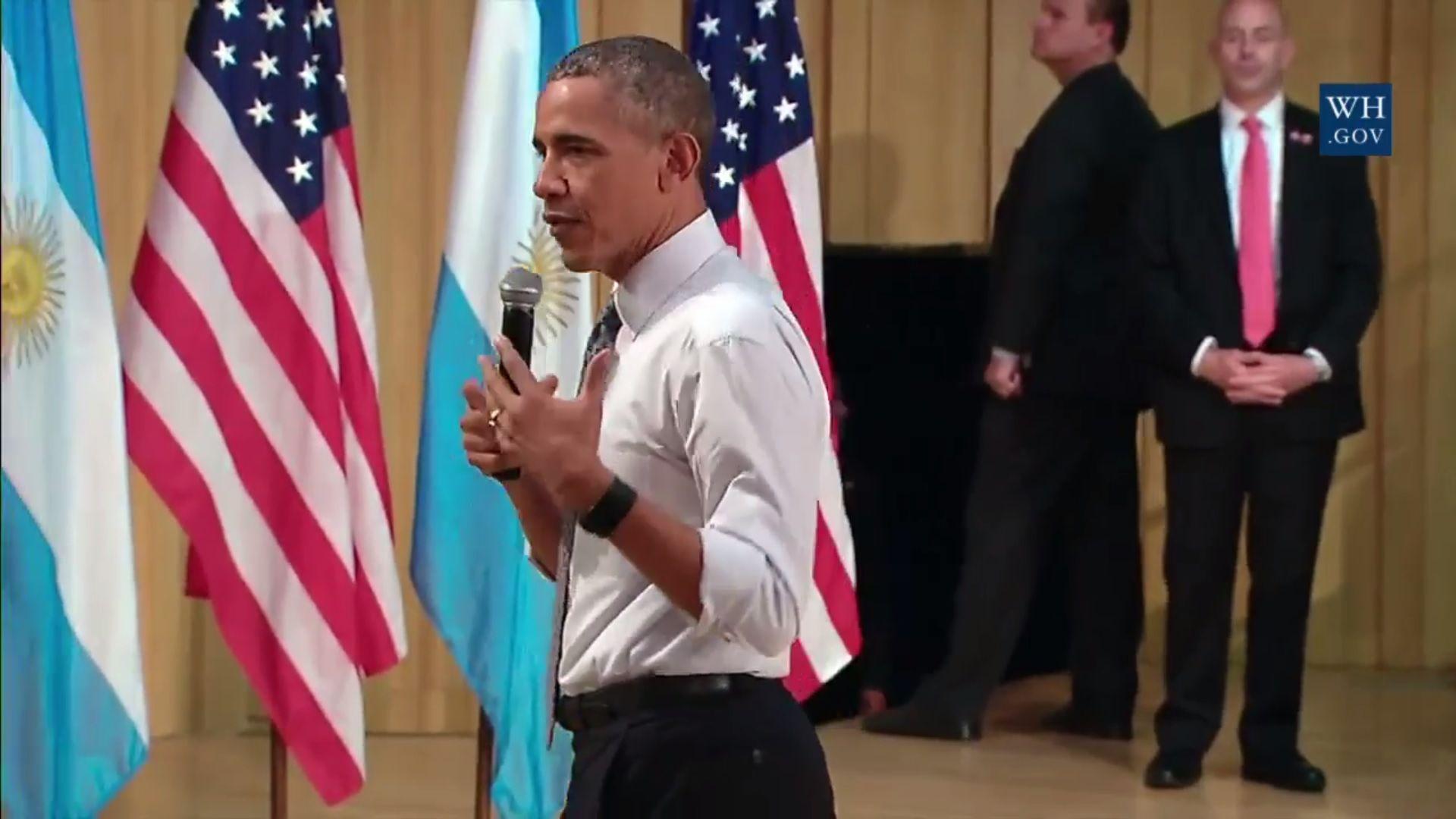 Reviví la charla de Barack Obama en La Usina del Arte