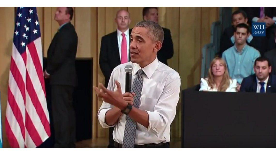 Obama: Me fascinó la Ciudad de Buenos Aires