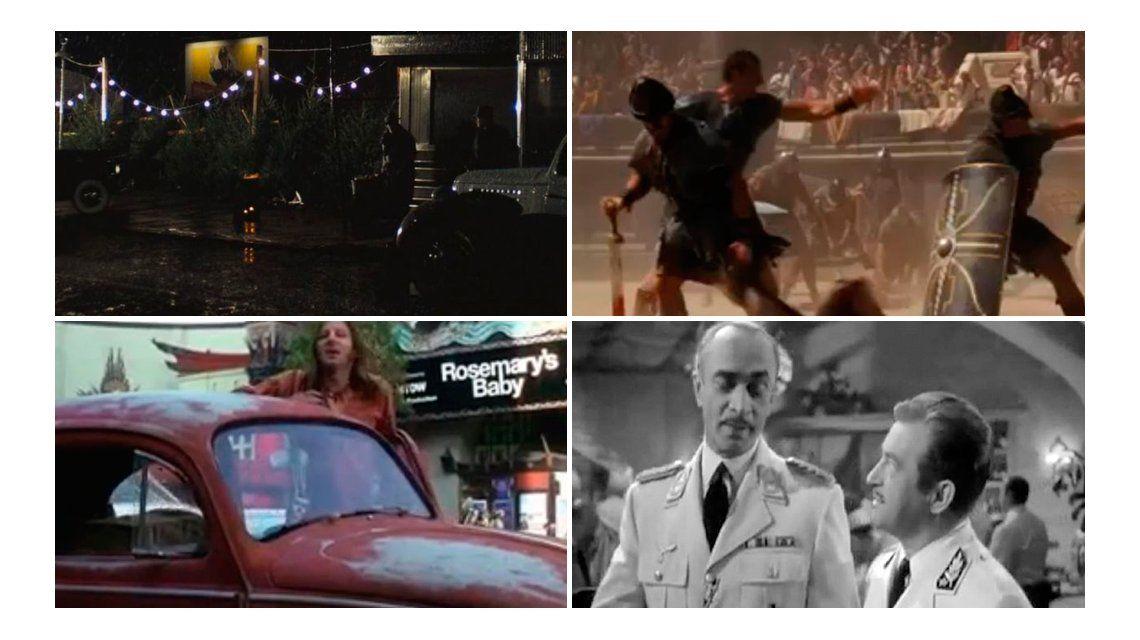 #TriviaM1 El cine cumple 121 años: ¿de qué película es cada imagen?