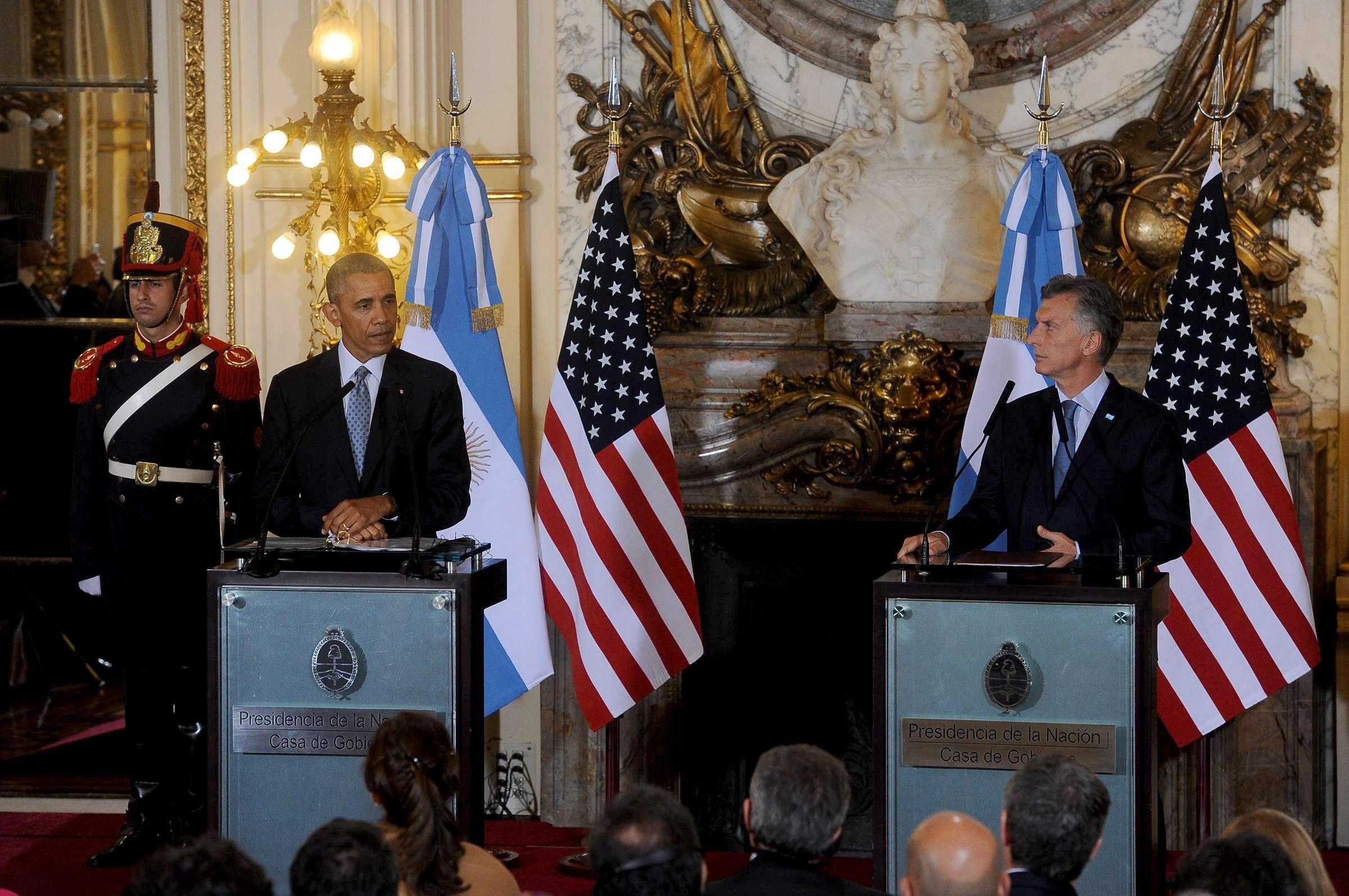 Obama: Estados Unidos está listo para trabajar con la Argentina