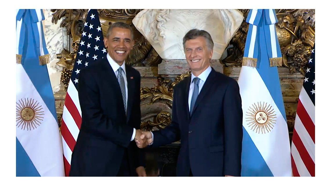 Obama en la Argentina, en imágenes
