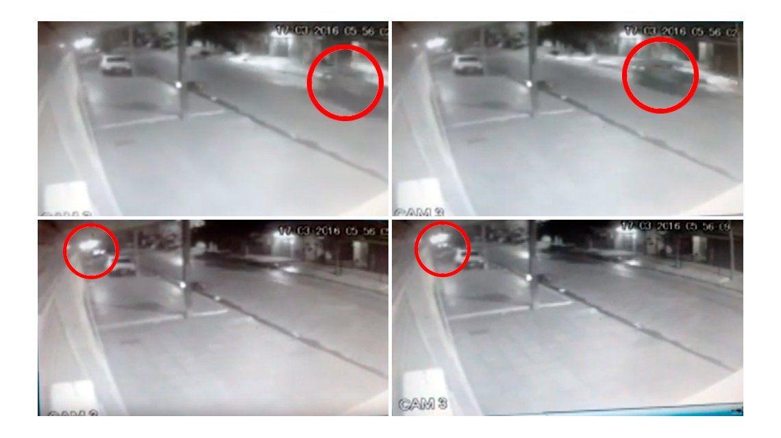 VIDEO: Así chocó el patrullero que mató a un joven en Laferrere