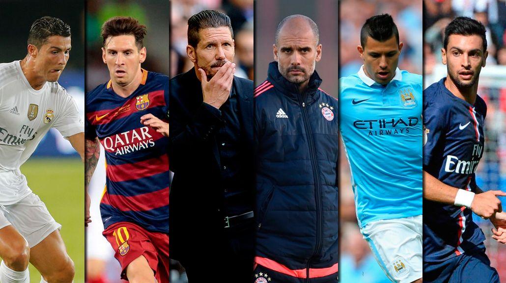 Champions League: Messi vs. Simeone y todos los cruces de los cuartos de final