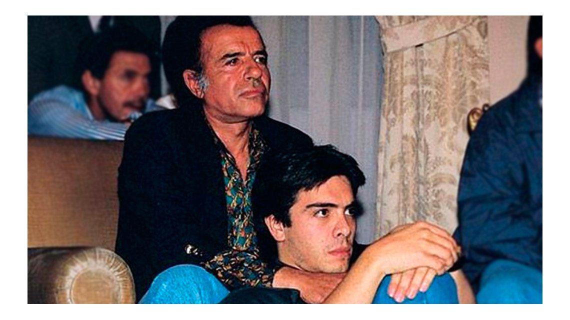 Carlos Menem Jr. había nacido en La Rioja