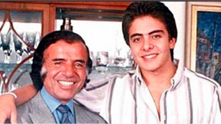Carlos Menem Jr. tenía 26 años cuando se estrelló el helicóptero en que viajaba