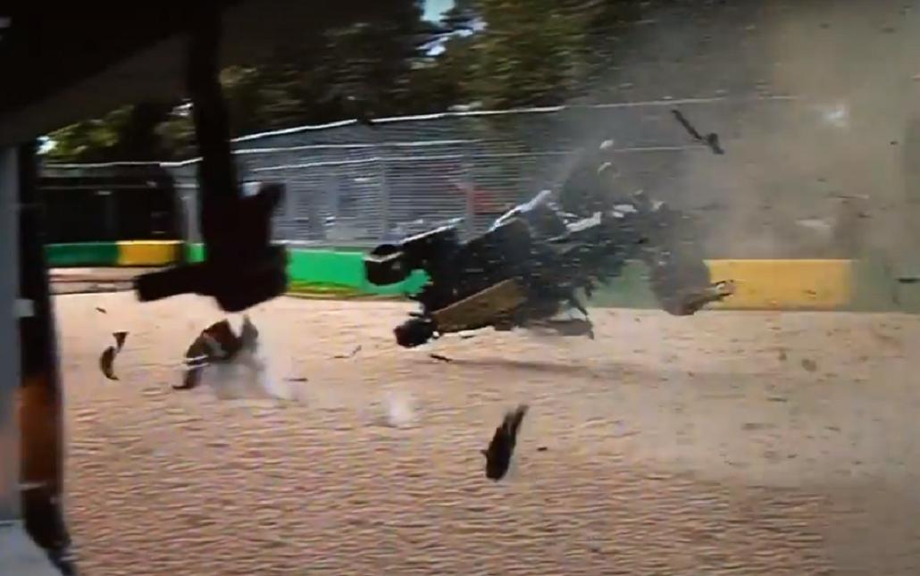 Fernando Alonso se salvó de milagro tras un impactante accidente