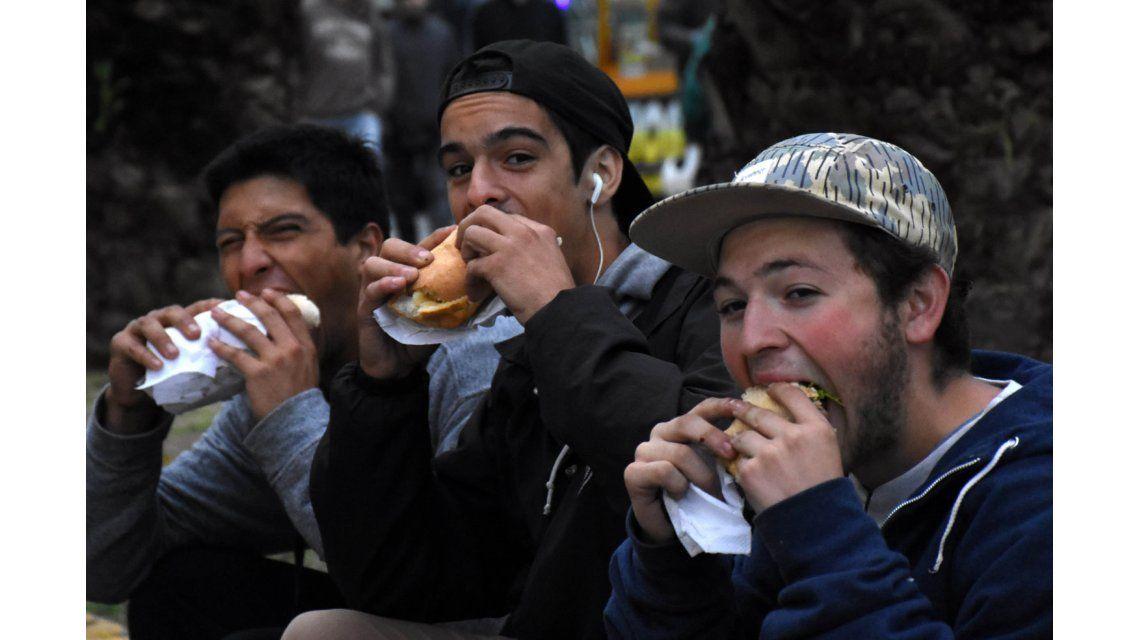 Las fotos del tercer Festival Mundial del Choripán en Córdoba