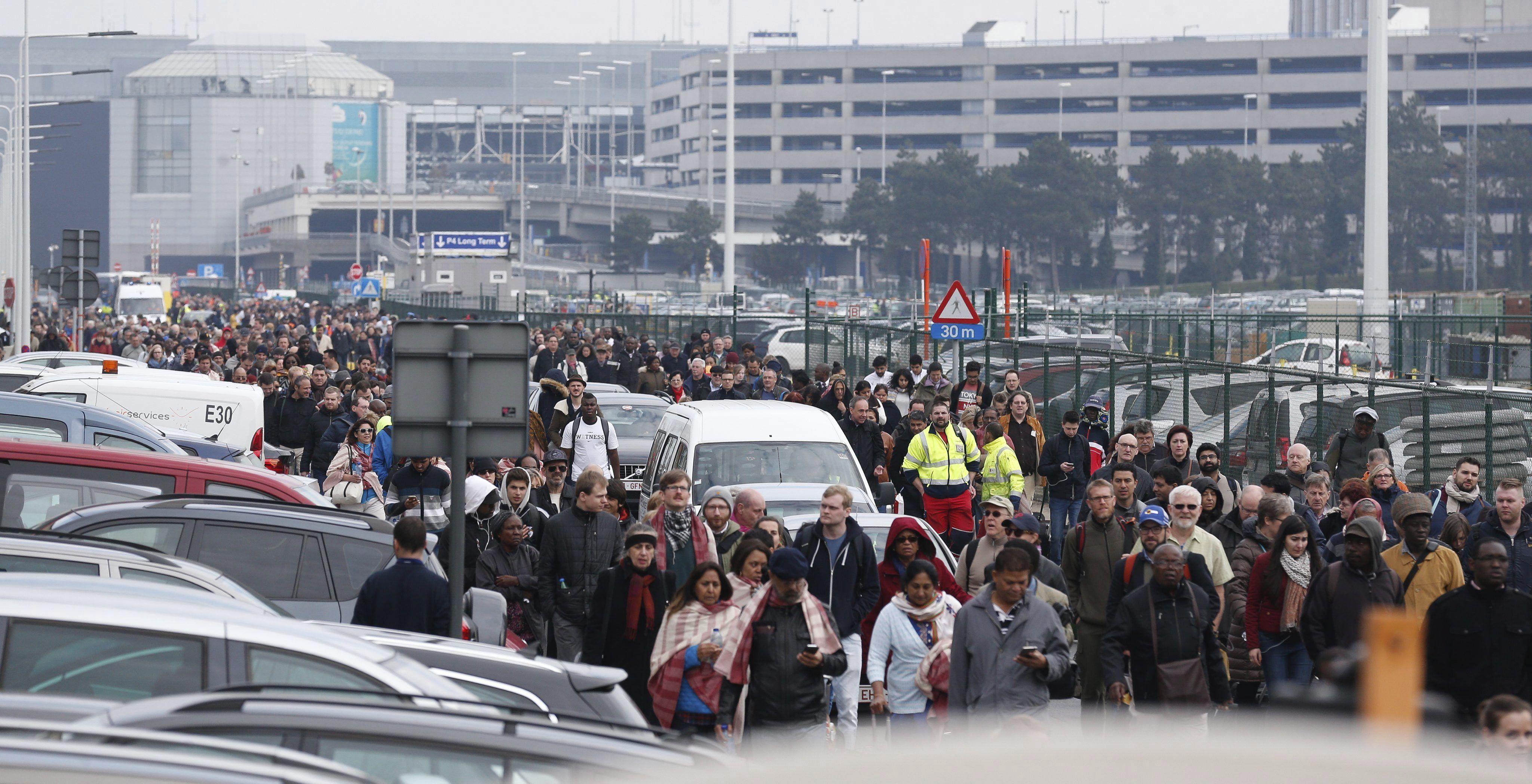 Las tres explosiones en cadena de Bruselas fueron atentados terroristas