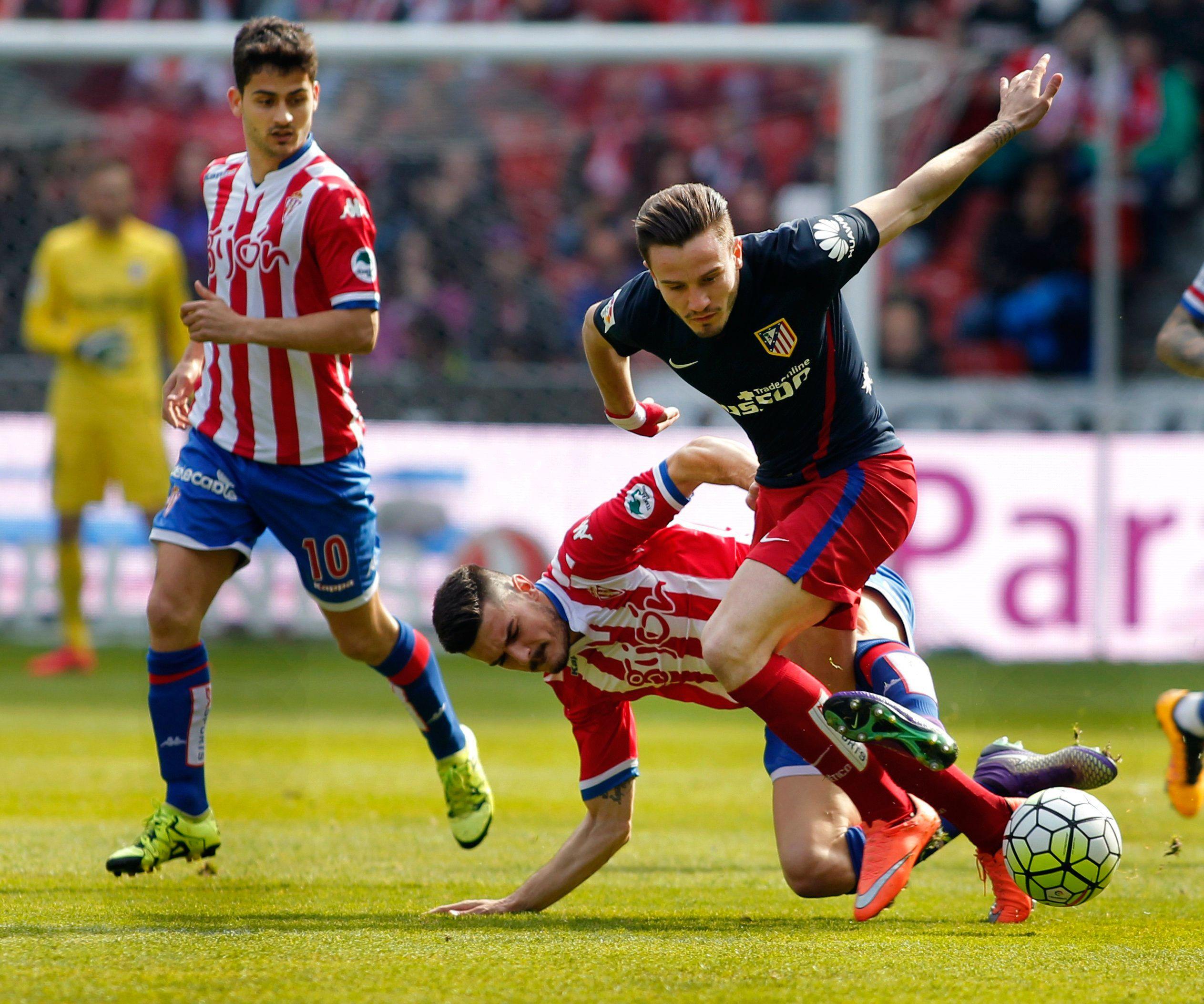 El Atlético de Simeone se durmió y perdió frente al Sporting Gijón
