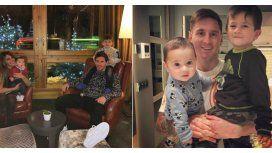 España: con un mensaje de Antonella, Messi festeja el Día del Padre