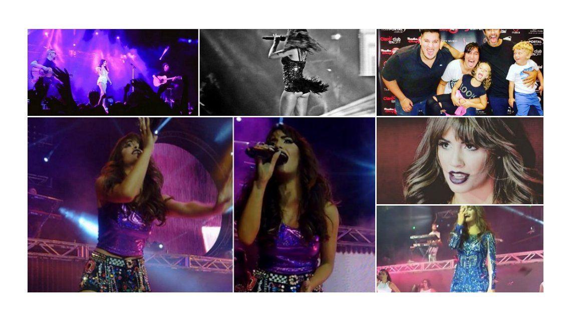 Lali Espósito cierra su primera gira y adelantó una canción del nuevo CD