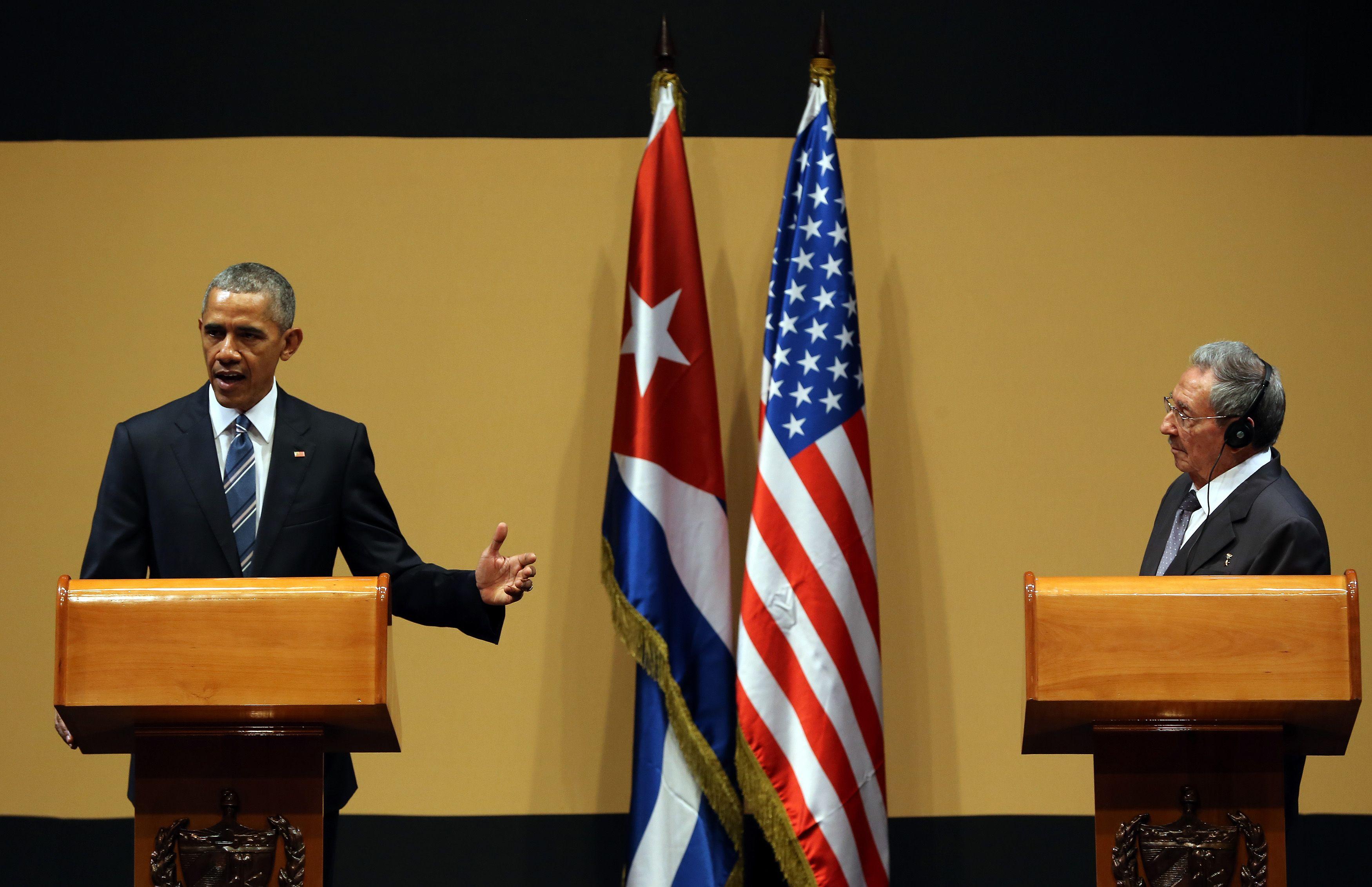 Castro y Obama piden al Congreso de EE.UU. que levante el embargo a Cuba