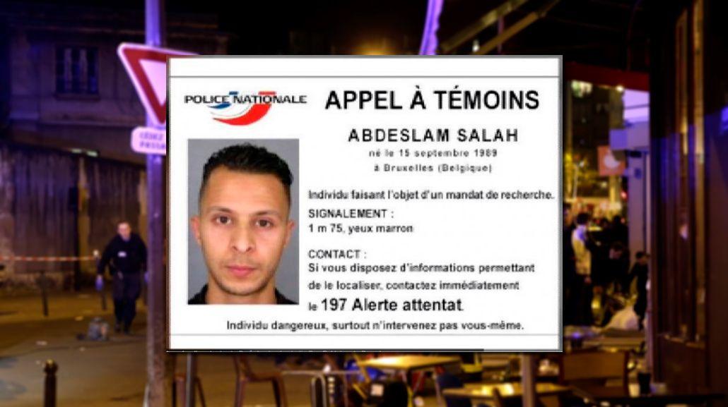 Atentados en París: según la prensa belga, el terrorista más buscado, fue detenido