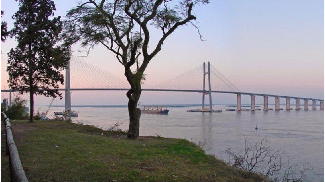 Puente en donde fue encontrado el cuerpo