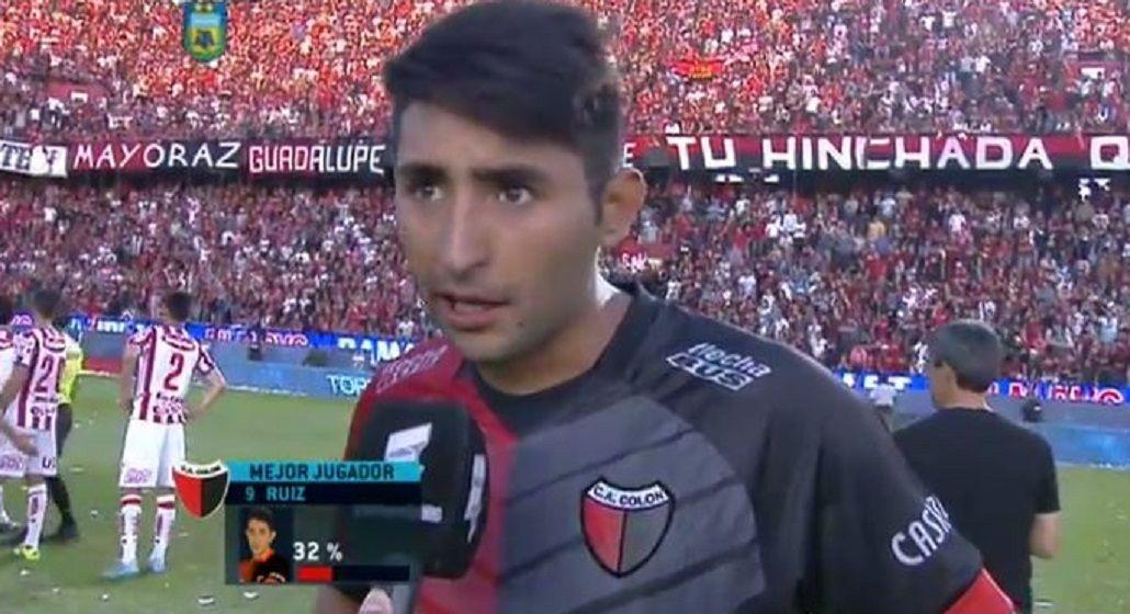 Tras confirmar la agresión de barras, Alan Ruiz confirmó que no jugará más en Colón