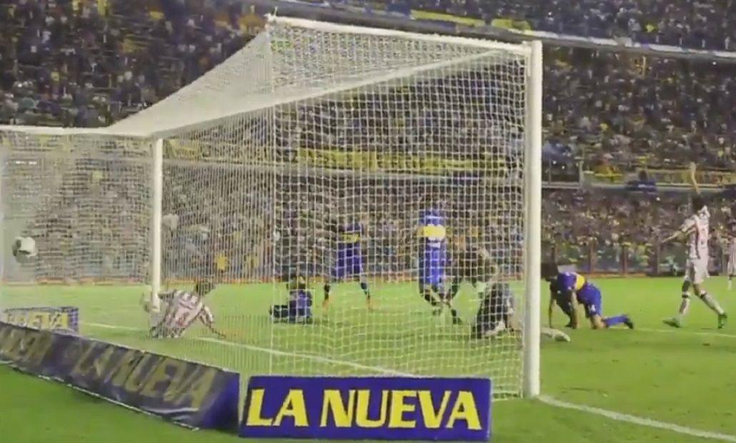 Mirá el agónico gol de Tevez a Unión desde una cámara especial