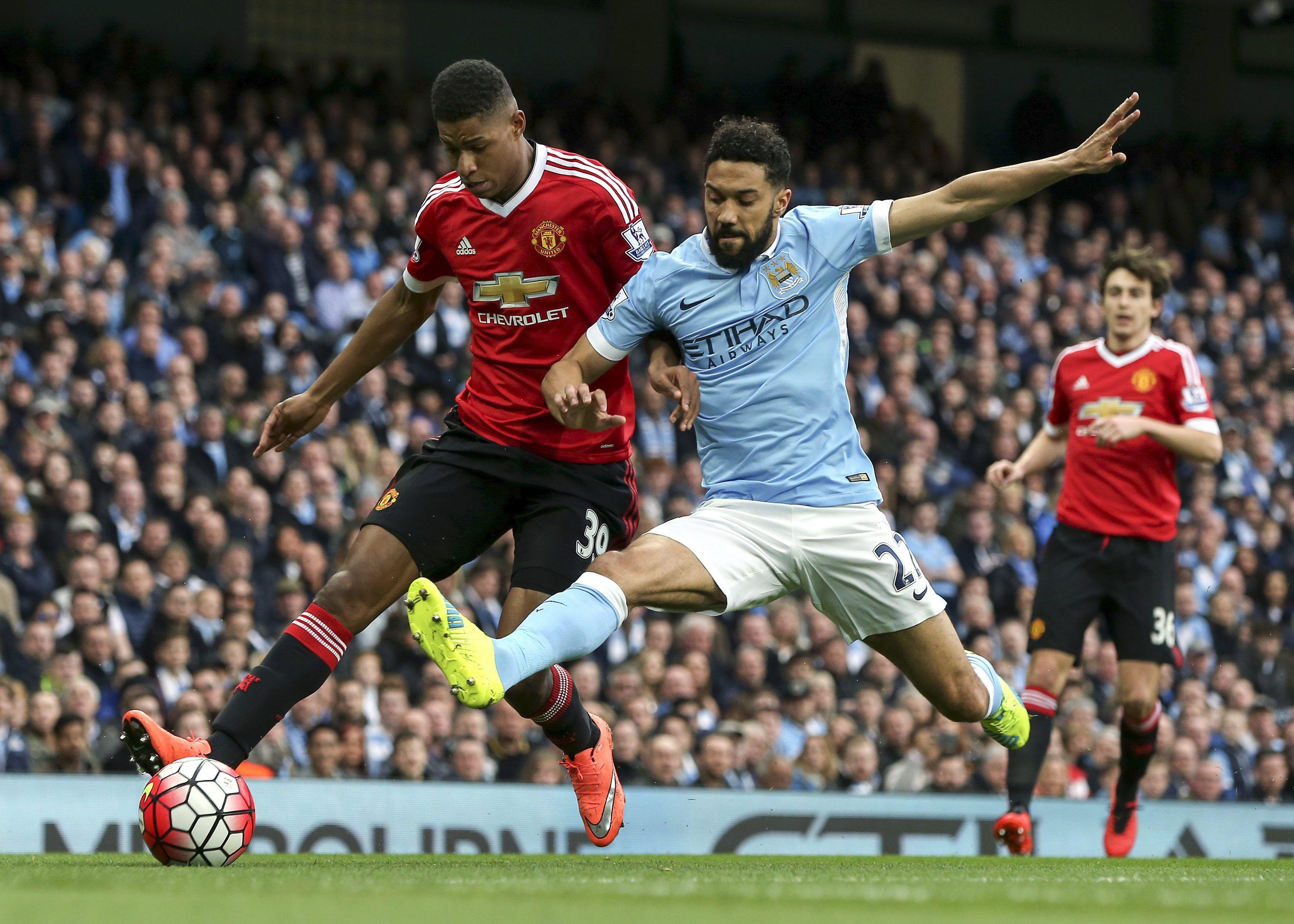 El City cayó derrotado frente al United en el clásico de Manchester