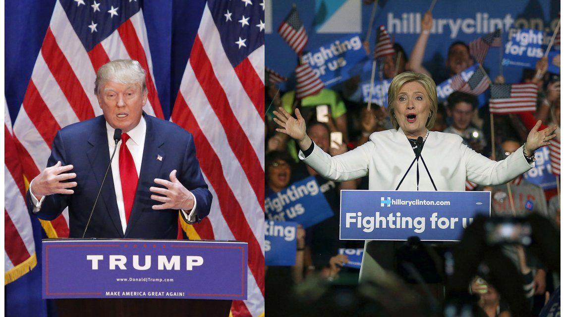 Trump y Hillary vencieron en Florida en un nuevo Supermartes