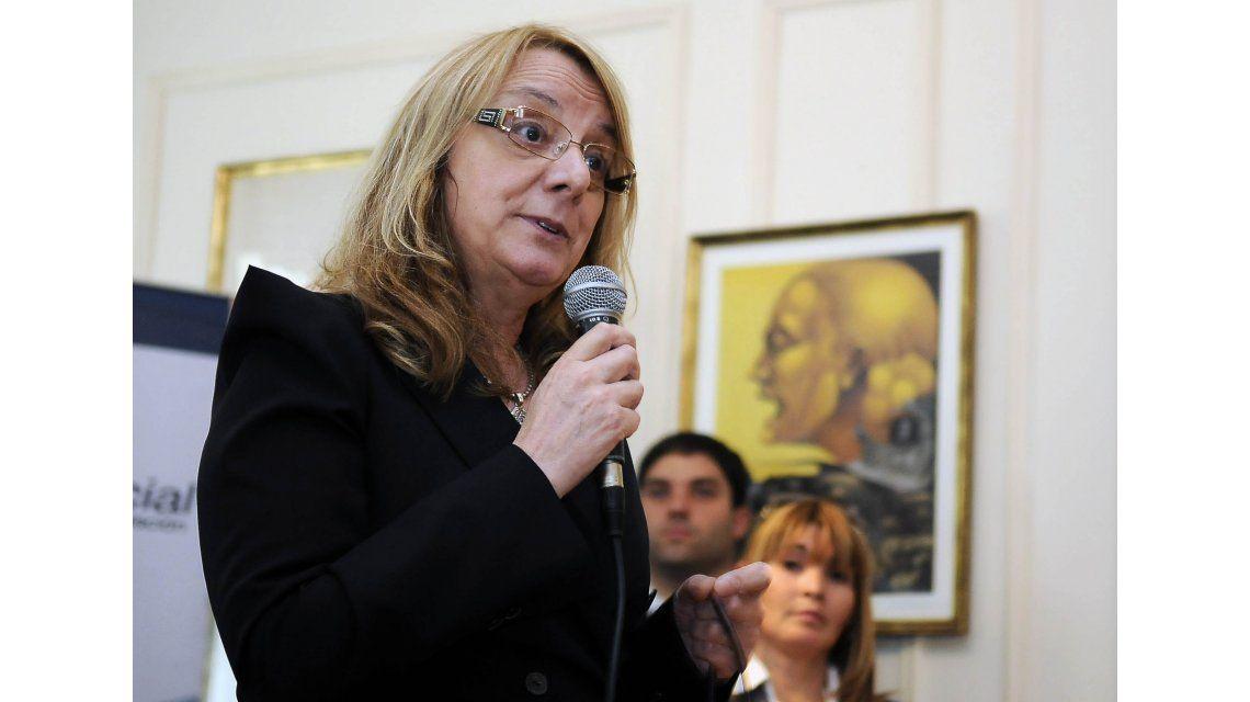 Alicia Kirchner llamó a los senadores a votar contra los fondos buitre