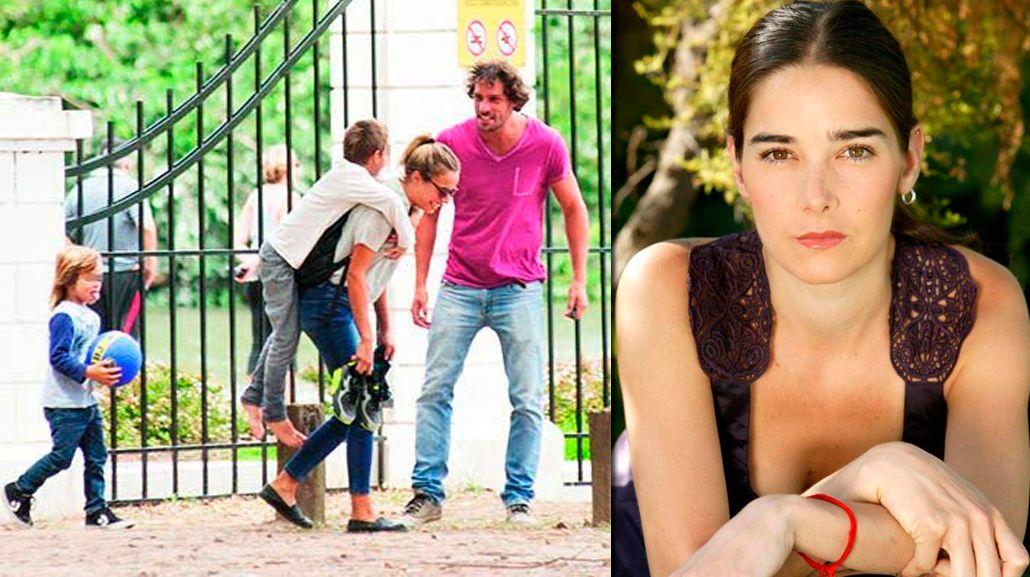 Las fotos de Gonzalo Valenzuela, muy divertido con sus hijos y su nuevo amor
