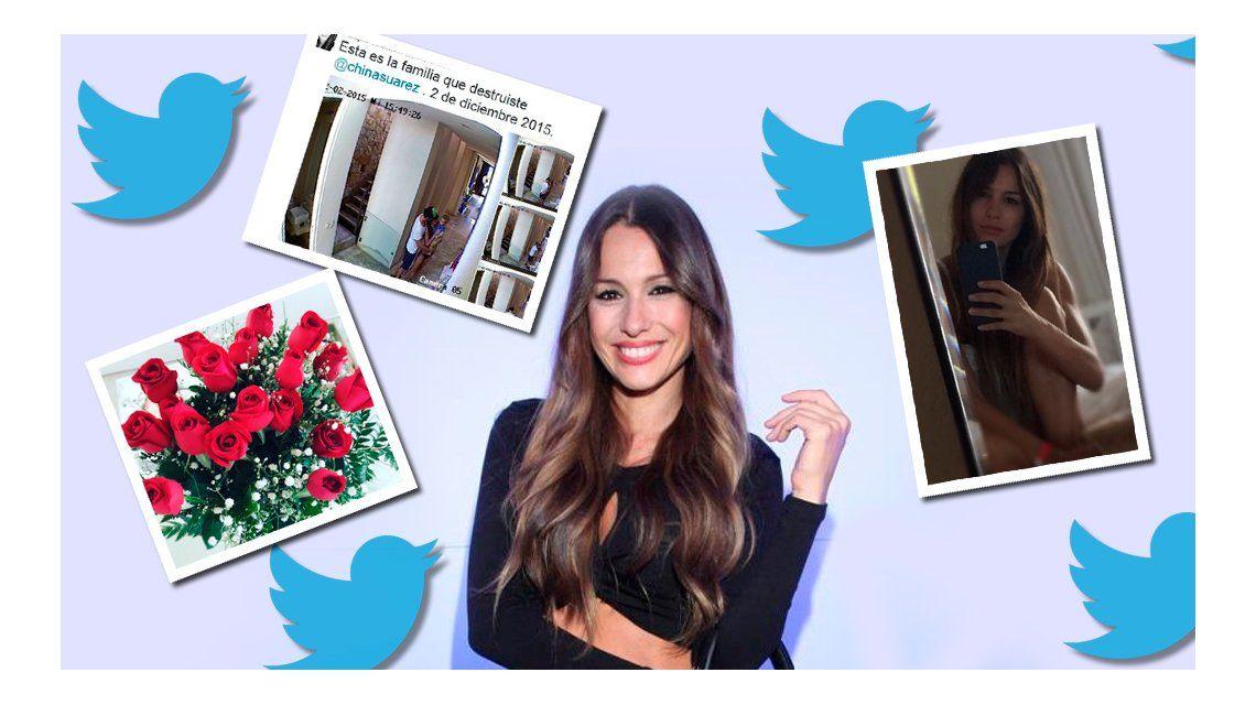 Twitter, el aliado estratégico de Pampita