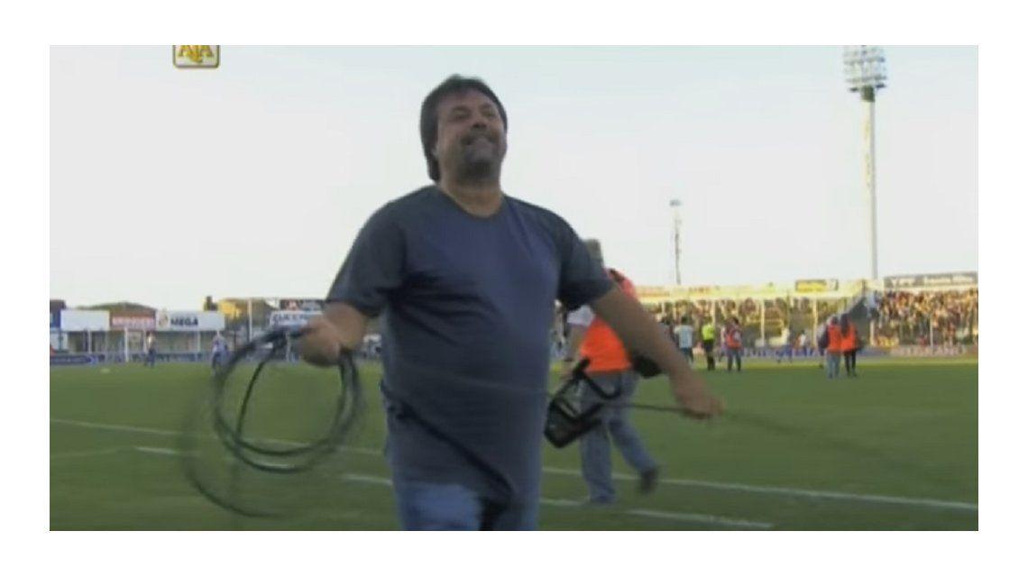 Ahora también tira cables: Caruso Lombardi y su nueva changa en Junín