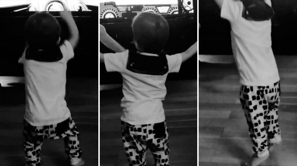 Video: ¿Lorenzo Tinelli al Bailando? ¡Mirá cómo se mueve!