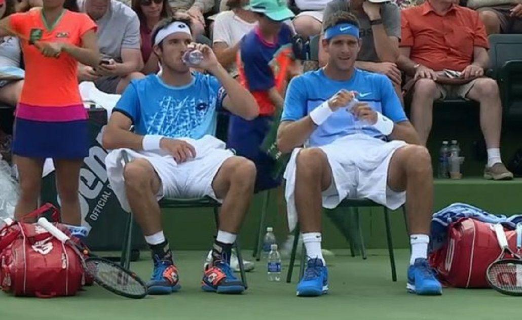 Objetivo Davis: Del Potro y Mayer ganaron en el dobles de Indian Wells