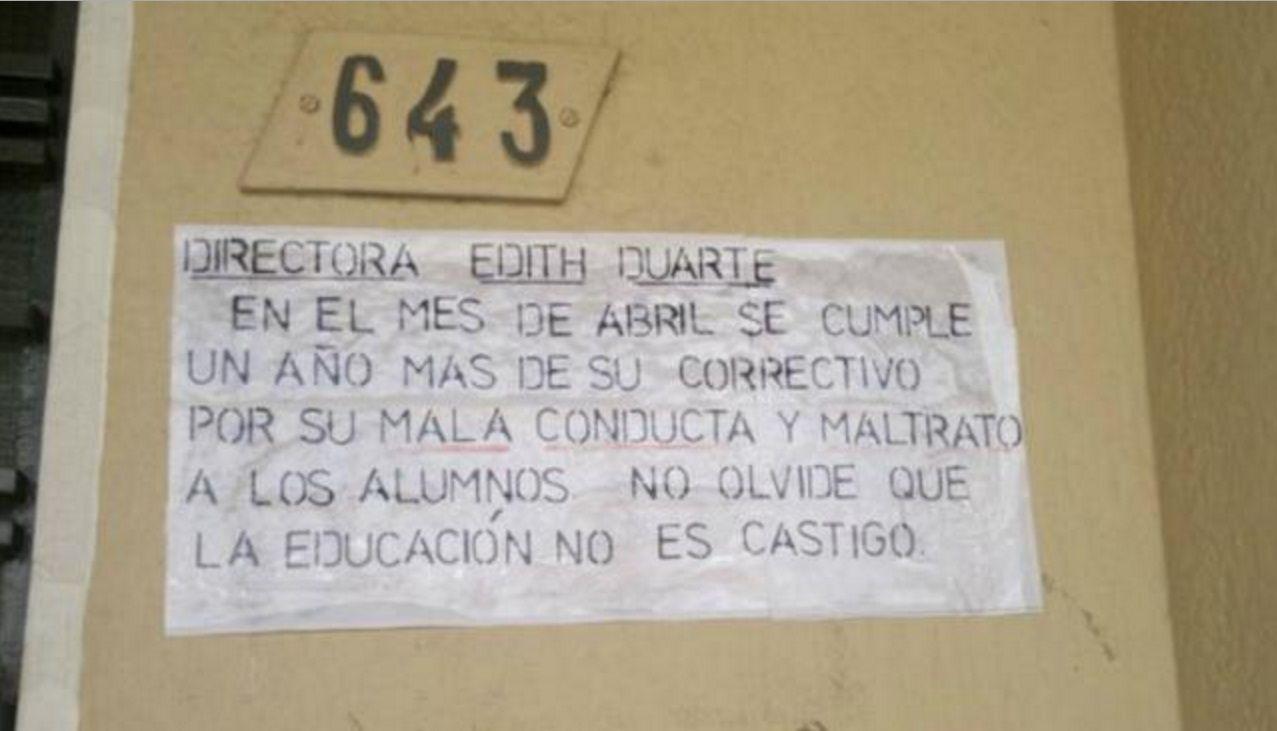 Preocupante: docentes tomaron una escuela y amenazaron a la directora