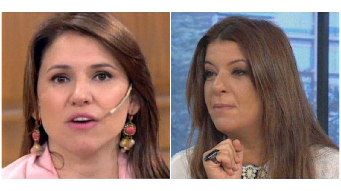 Escandaloso cruce en vivo entre Fernanda Iglesias y Andrea Taboada
