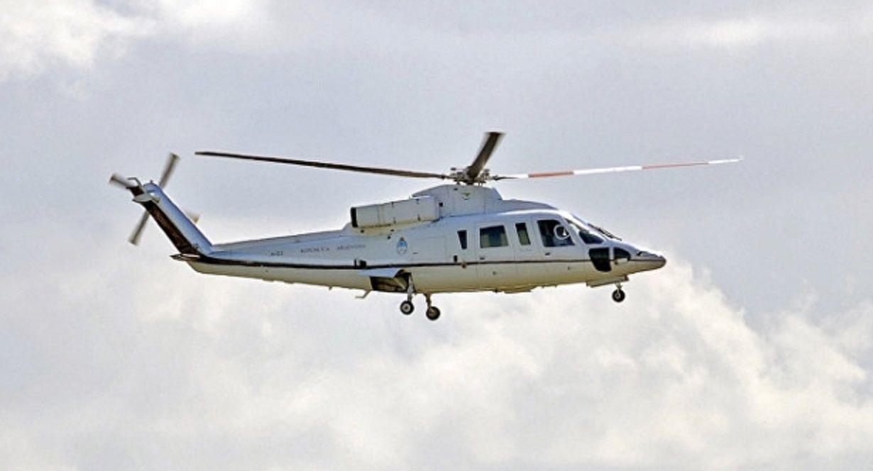 Controversia por vuelo del helicóptero presidencial