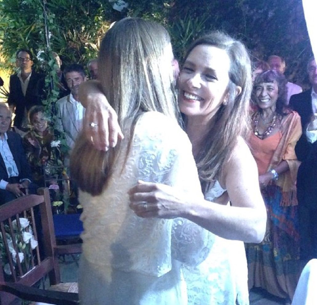 Sandra Mihanovich se casó con Marita Novaro