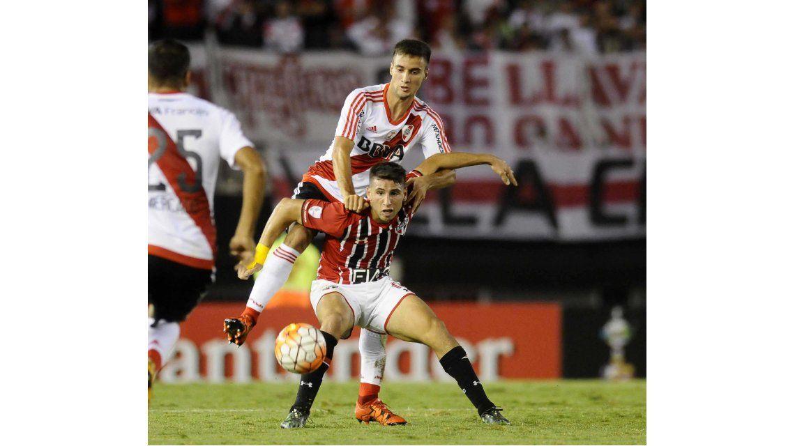 Las fotos del empate de River con San Pablo